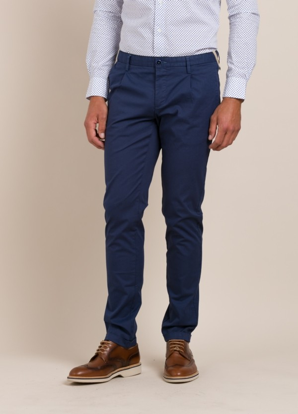 Pantalón chino AT.P.CO azul