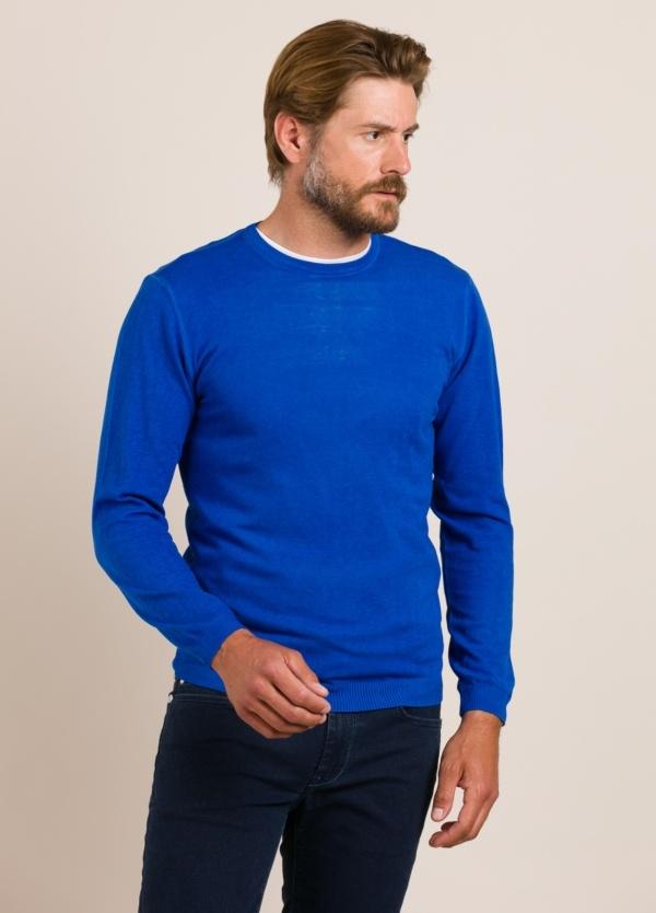 Jersey FUREST COLECCIÓN cuello redondo azul
