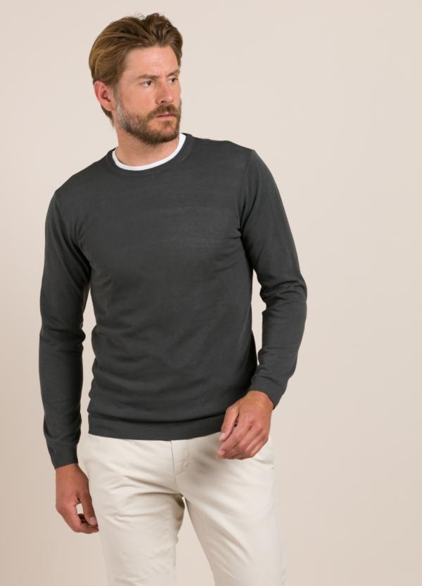 Jersey FUREST COLECCIÓN cuello redondo gris