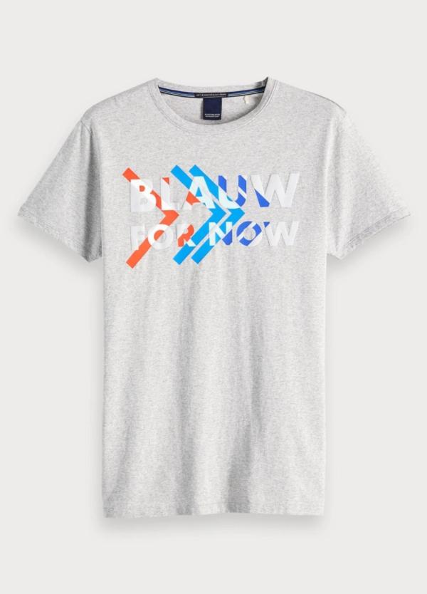 Camiseta SCOTCH & SODA gris
