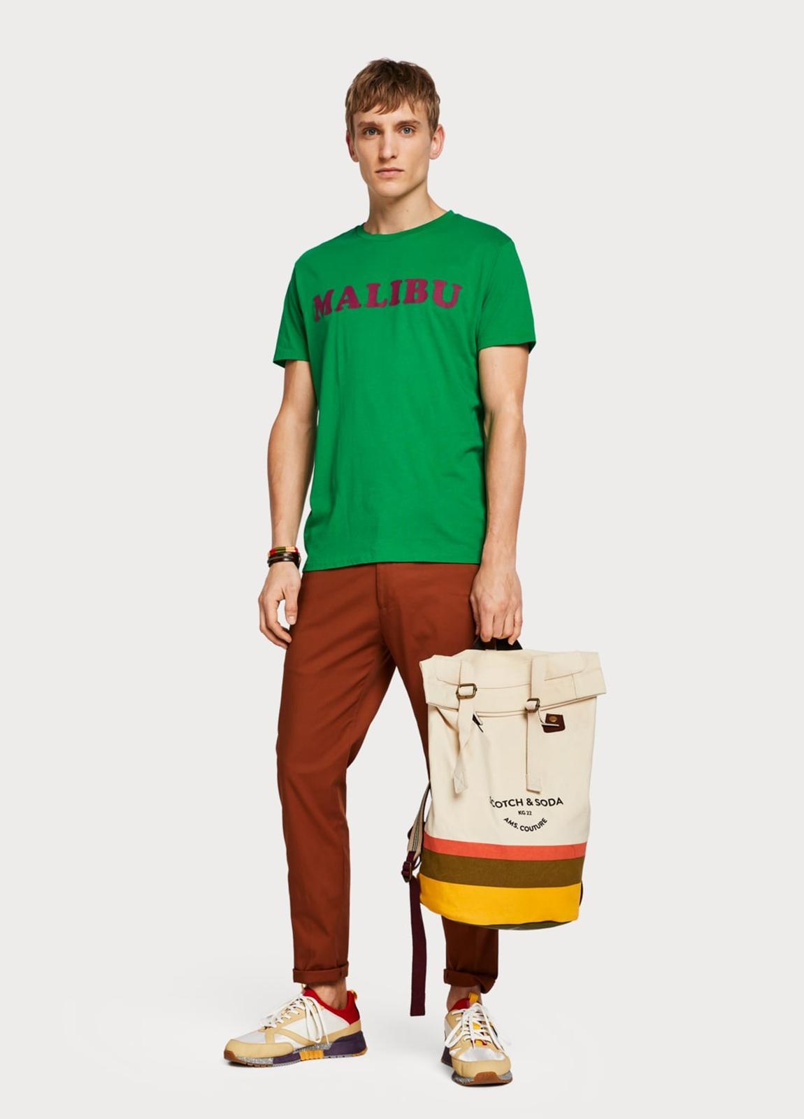 Camiseta SCOTCH & SODA verde - Ítem1