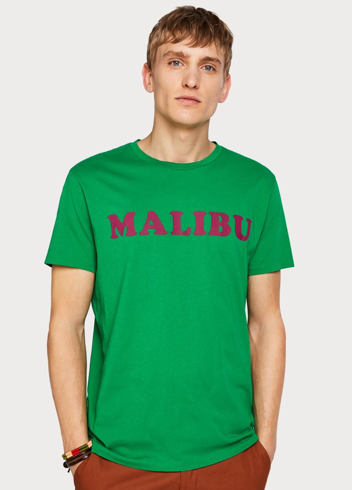 Camiseta SCOTCH & SODA verde