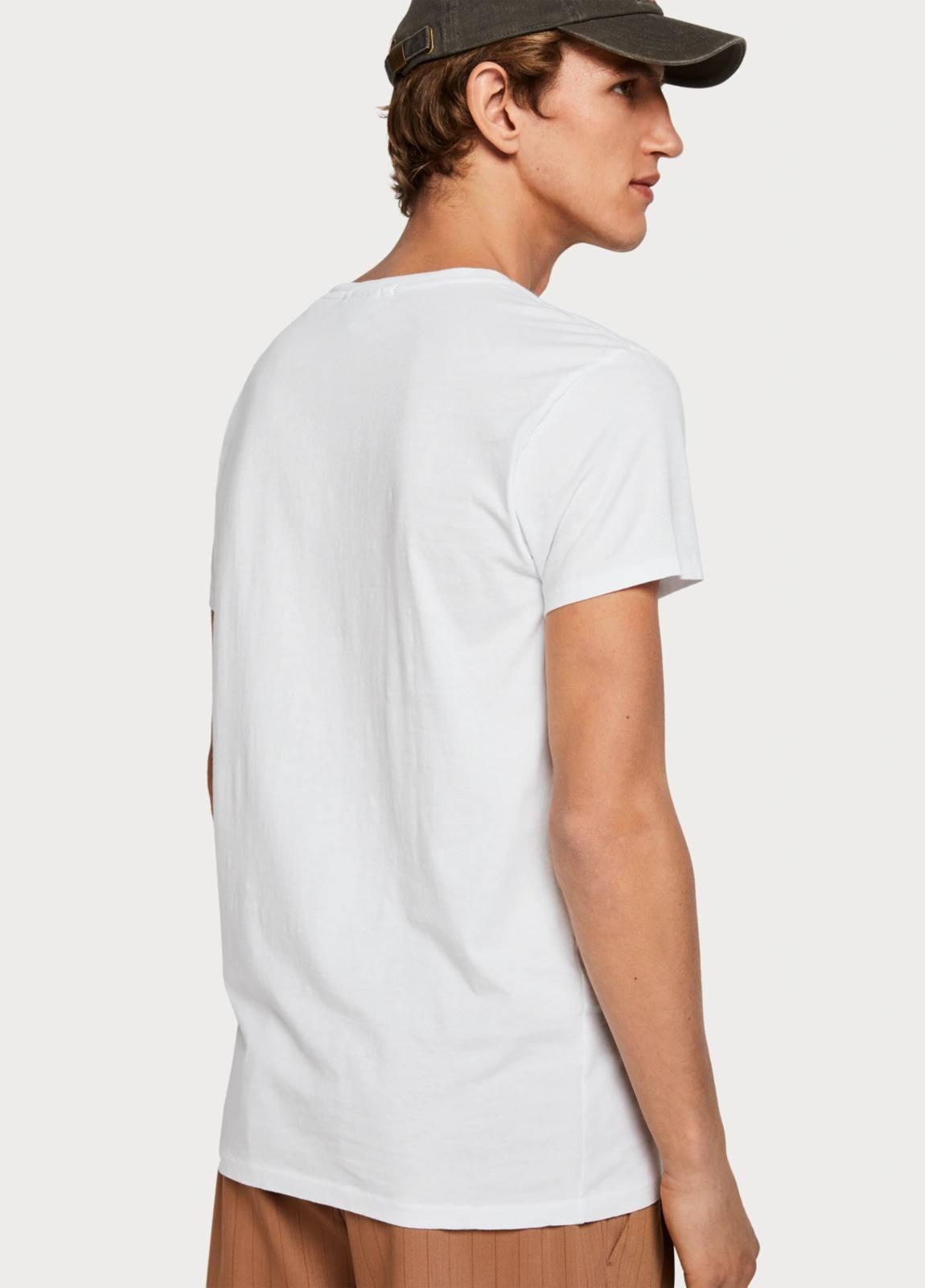 Camiseta SCOTCH & SODA blanco - Ítem2