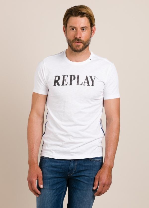 Camiseta REPLAY estampado gráfico