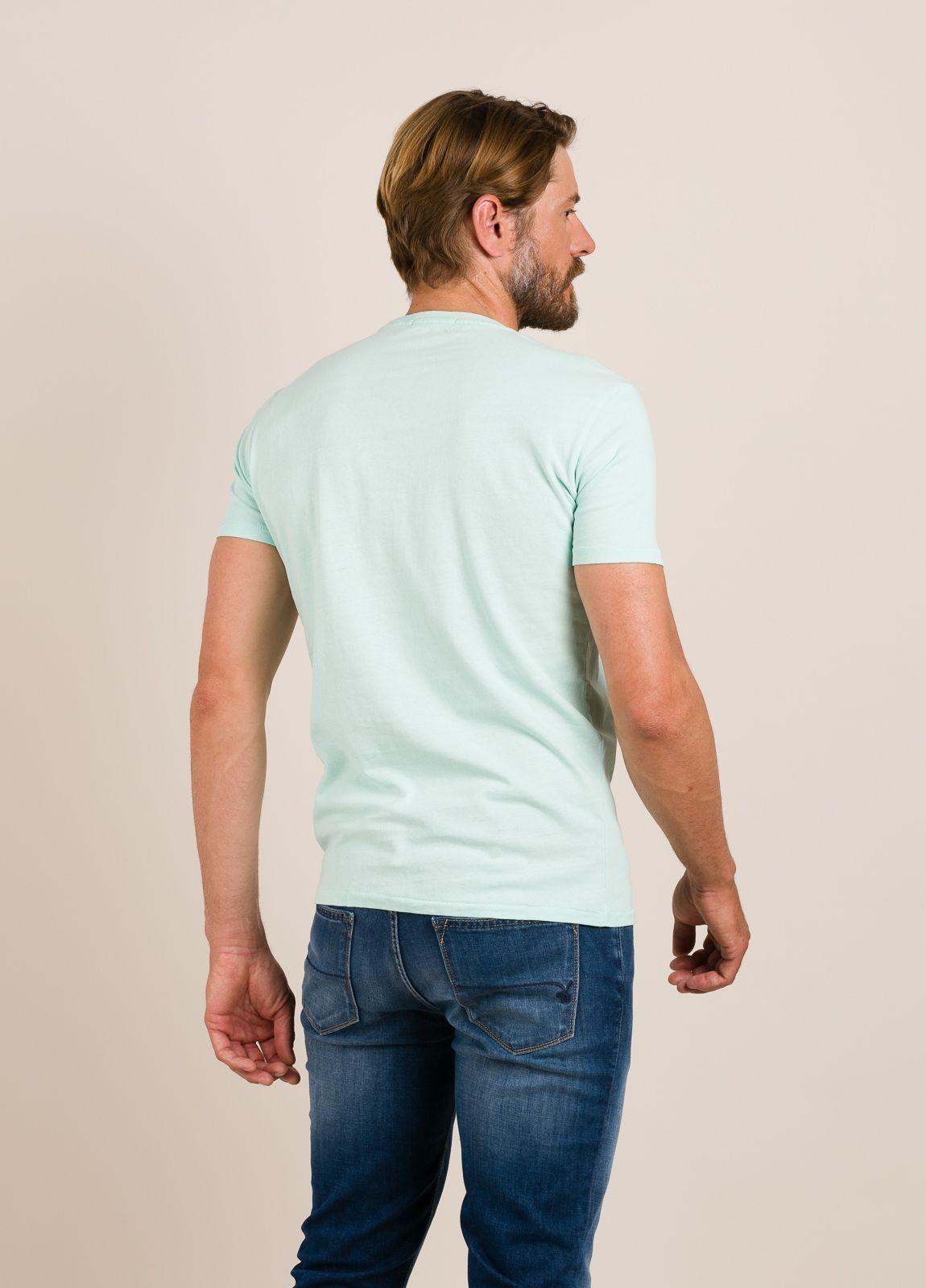 Camiseta REPLAY estampado gráfico verde - Ítem1