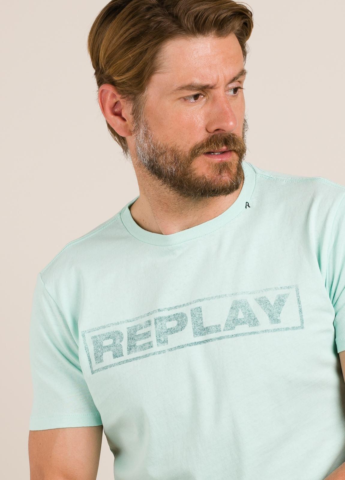 Camiseta REPLAY estampado gráfico verde - Ítem2