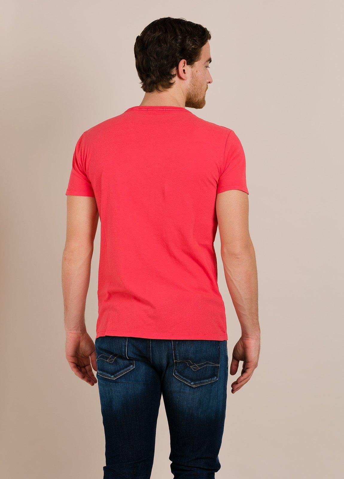 Camiseta REPLAY rojo estampado gráfico - Ítem1
