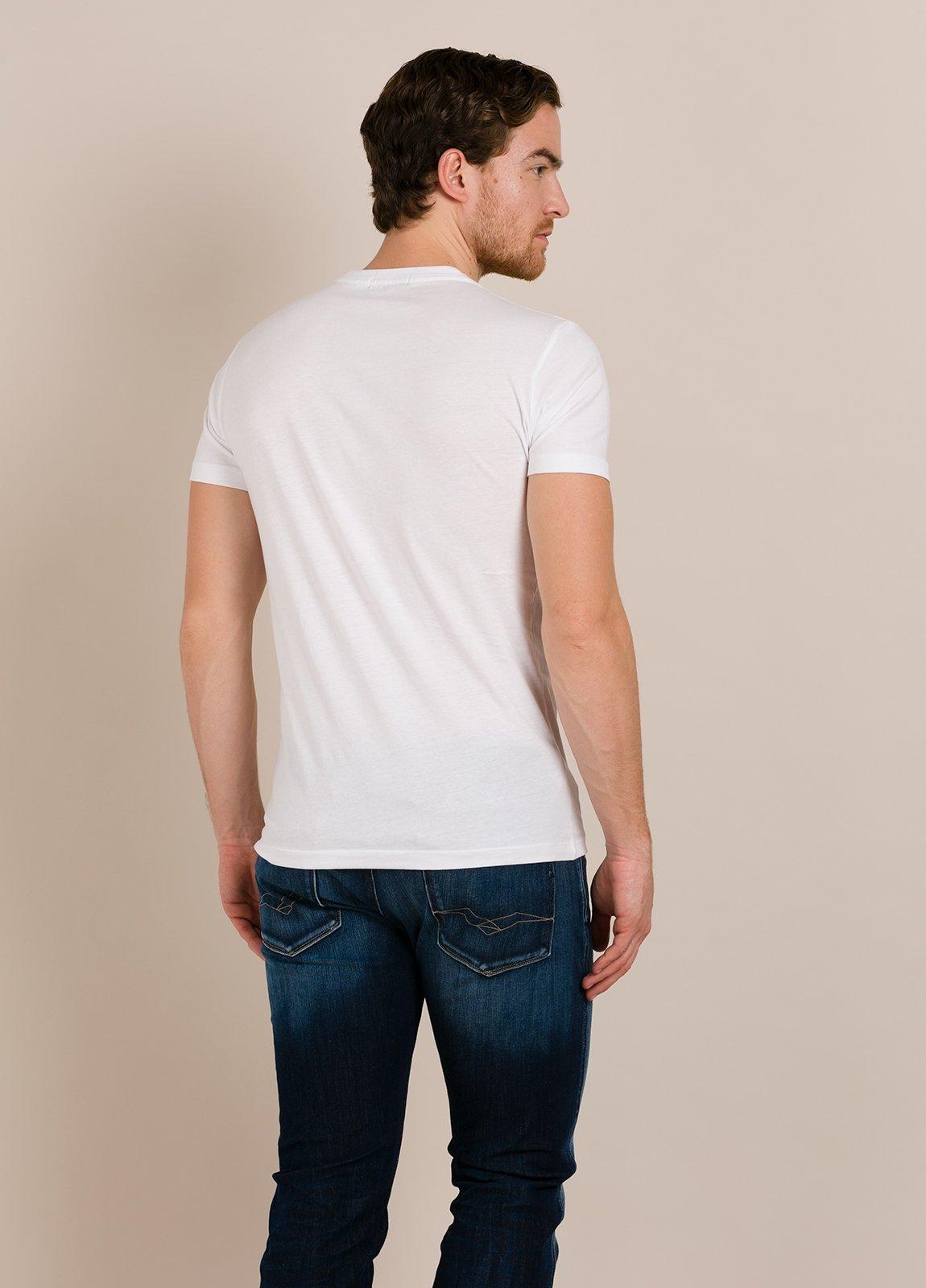Camiseta REPLAY blanco estampado gráfico - Ítem1