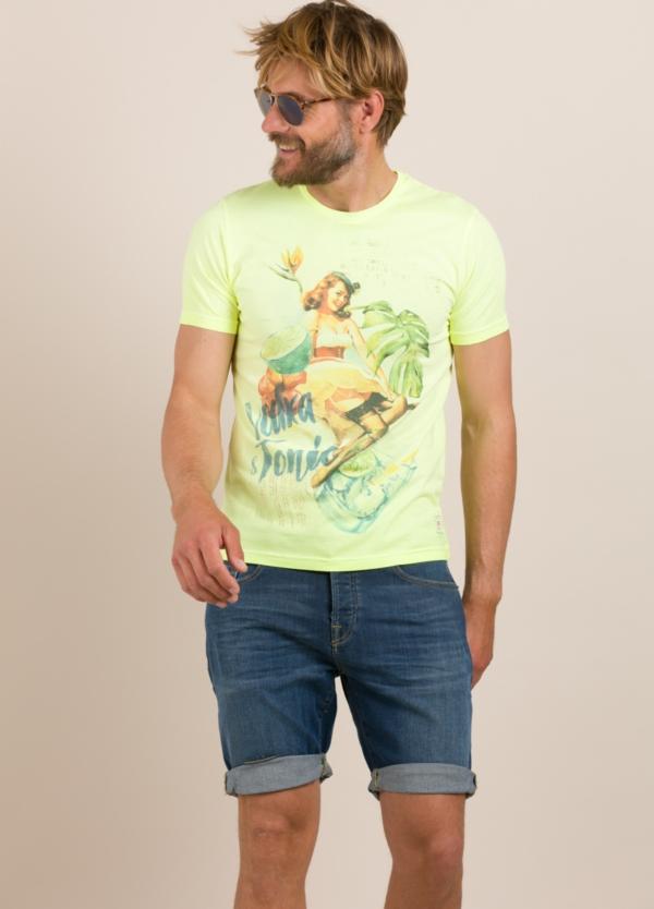 Camiseta BOB estampado vintage lima