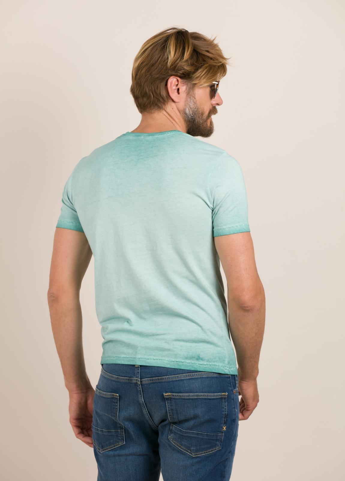 Camiseta BOB estampado vintage turquesa - Ítem2