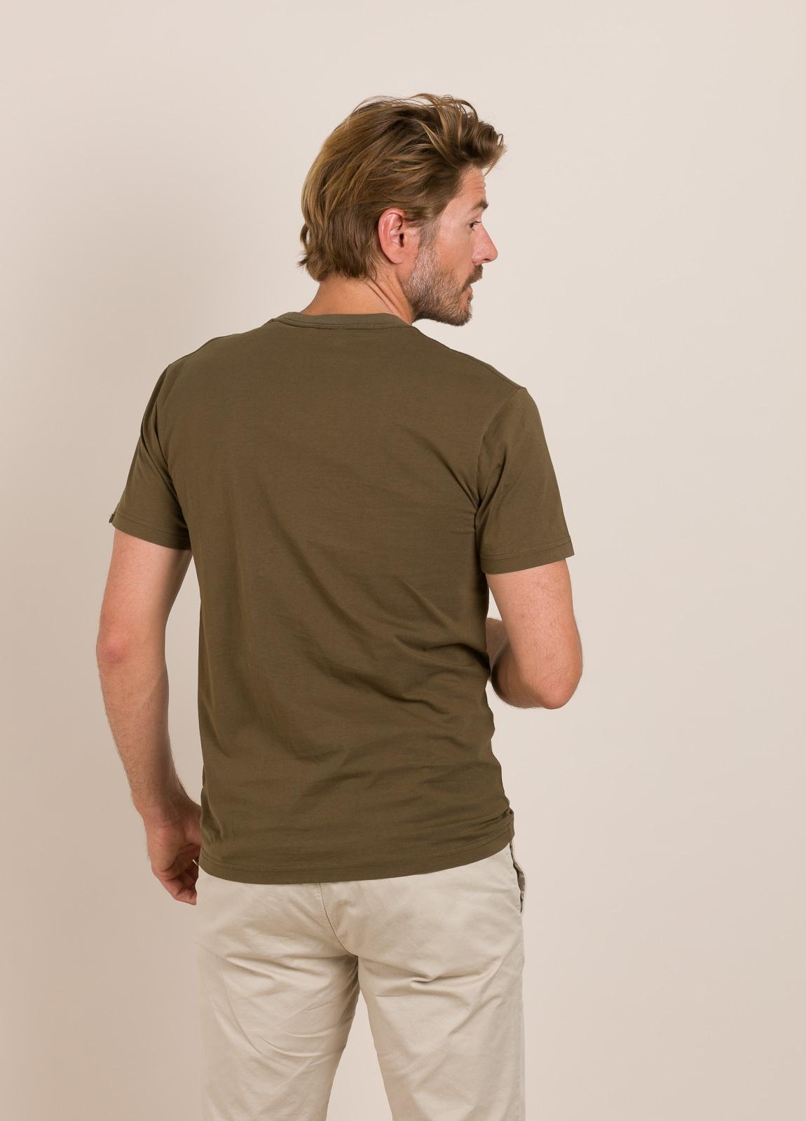 Camiseta DEUS kaki - Ítem1