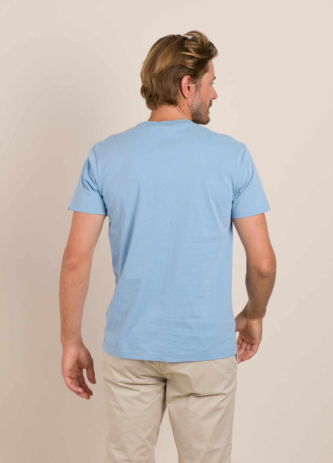Camiseta DEUS celeste - Ítem1