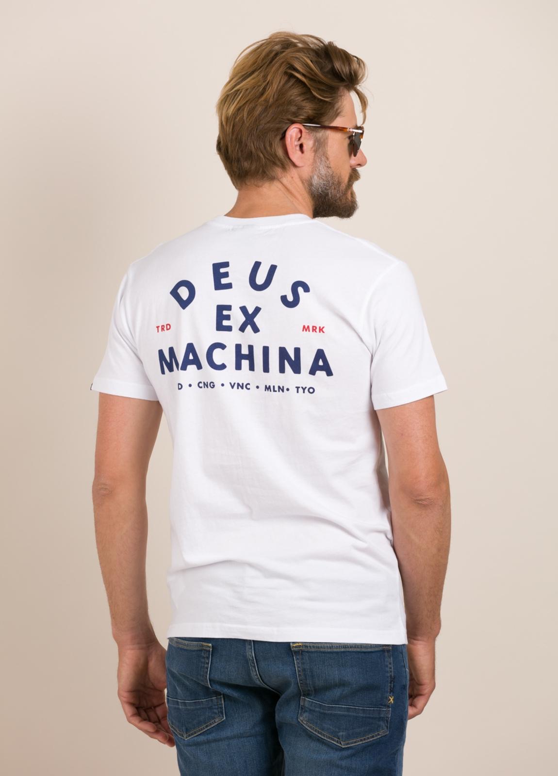 Camiseta DEUS blanco - Ítem1