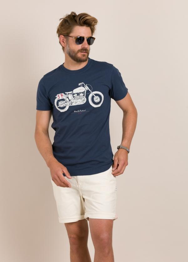 Camiseta DEUS marino