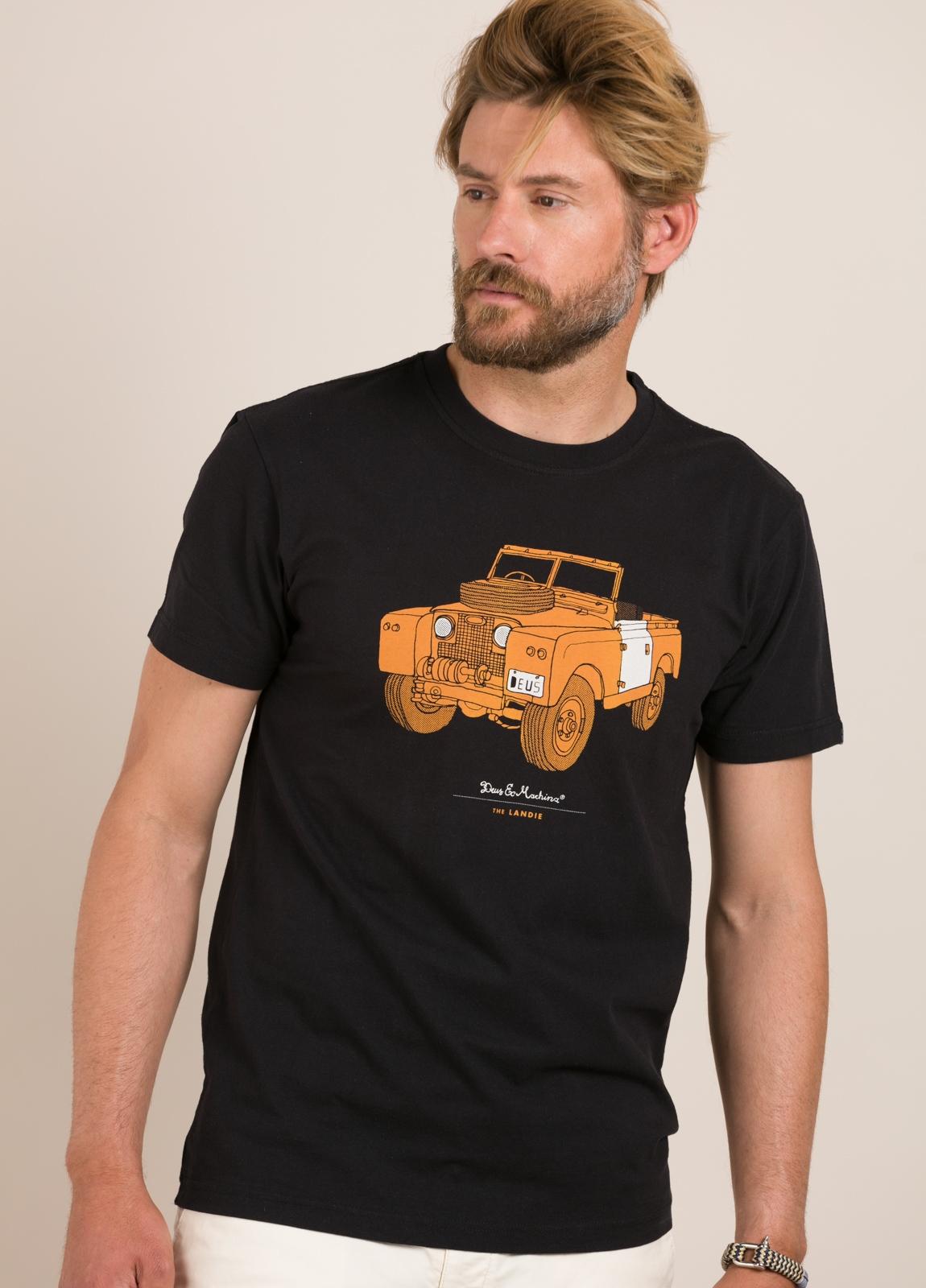 Camiseta DEUS negro - Ítem1