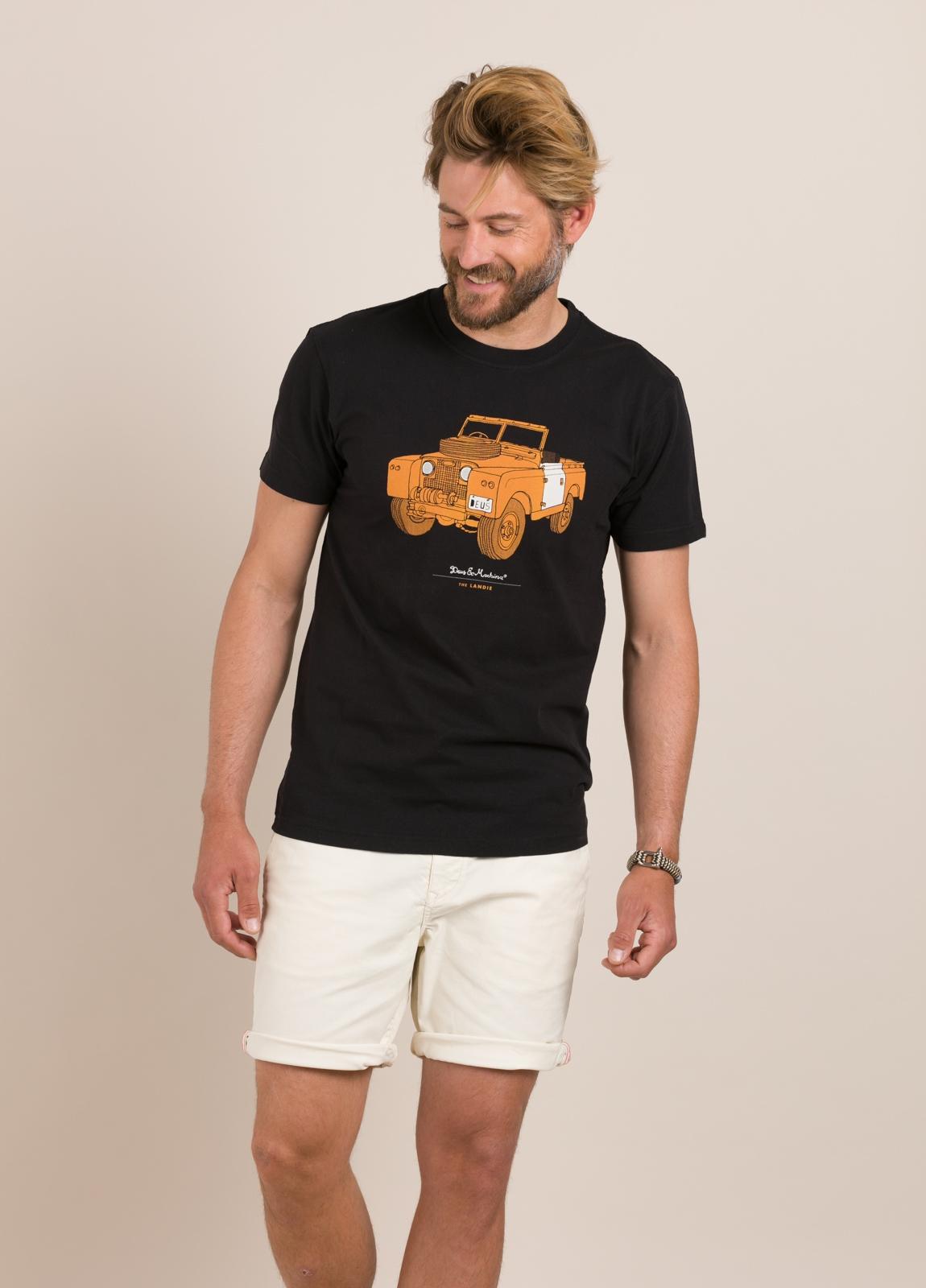 Camiseta DEUS negro