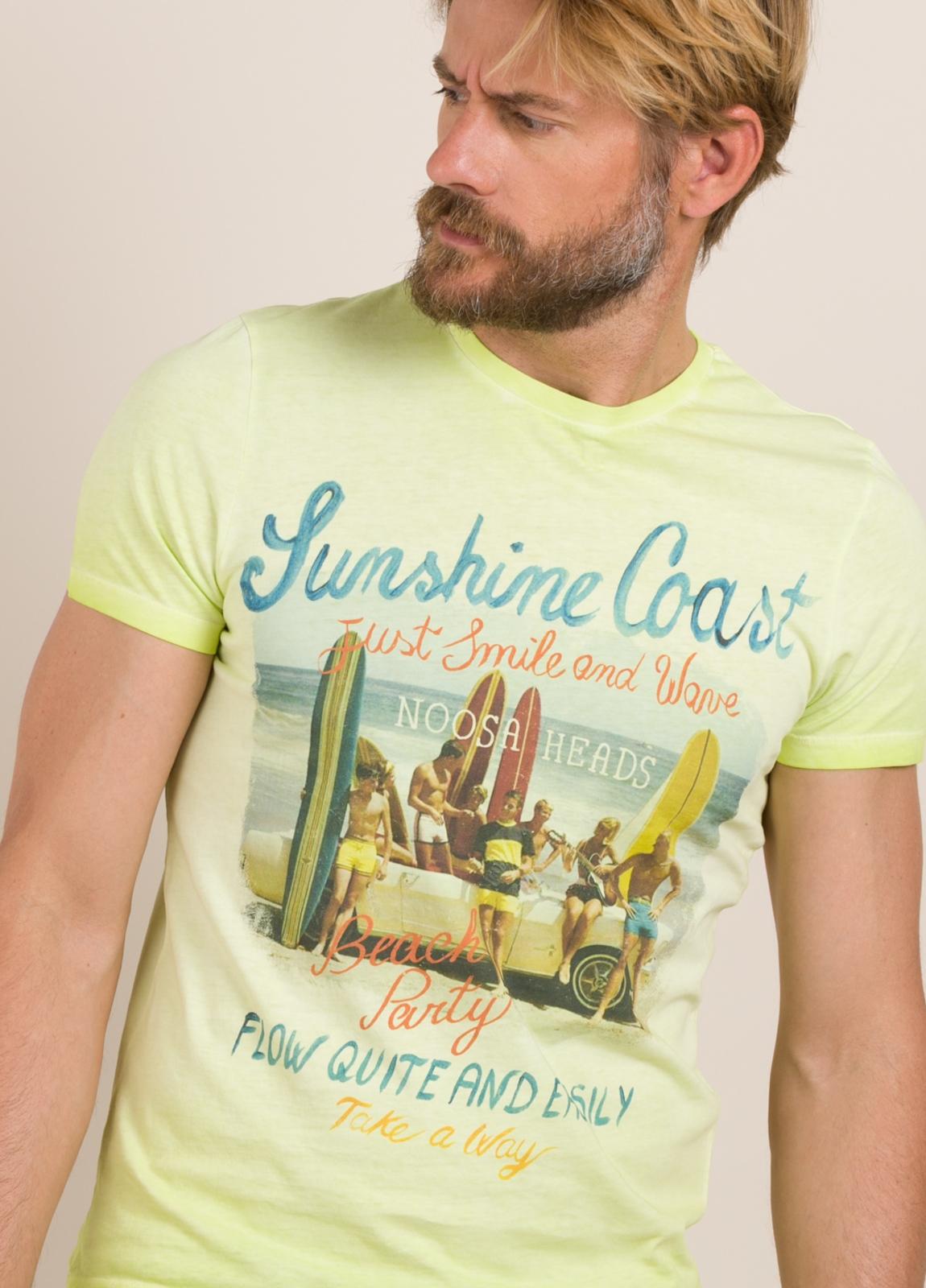Camiseta TAKE A WAY dibujo vintage playa - Ítem2