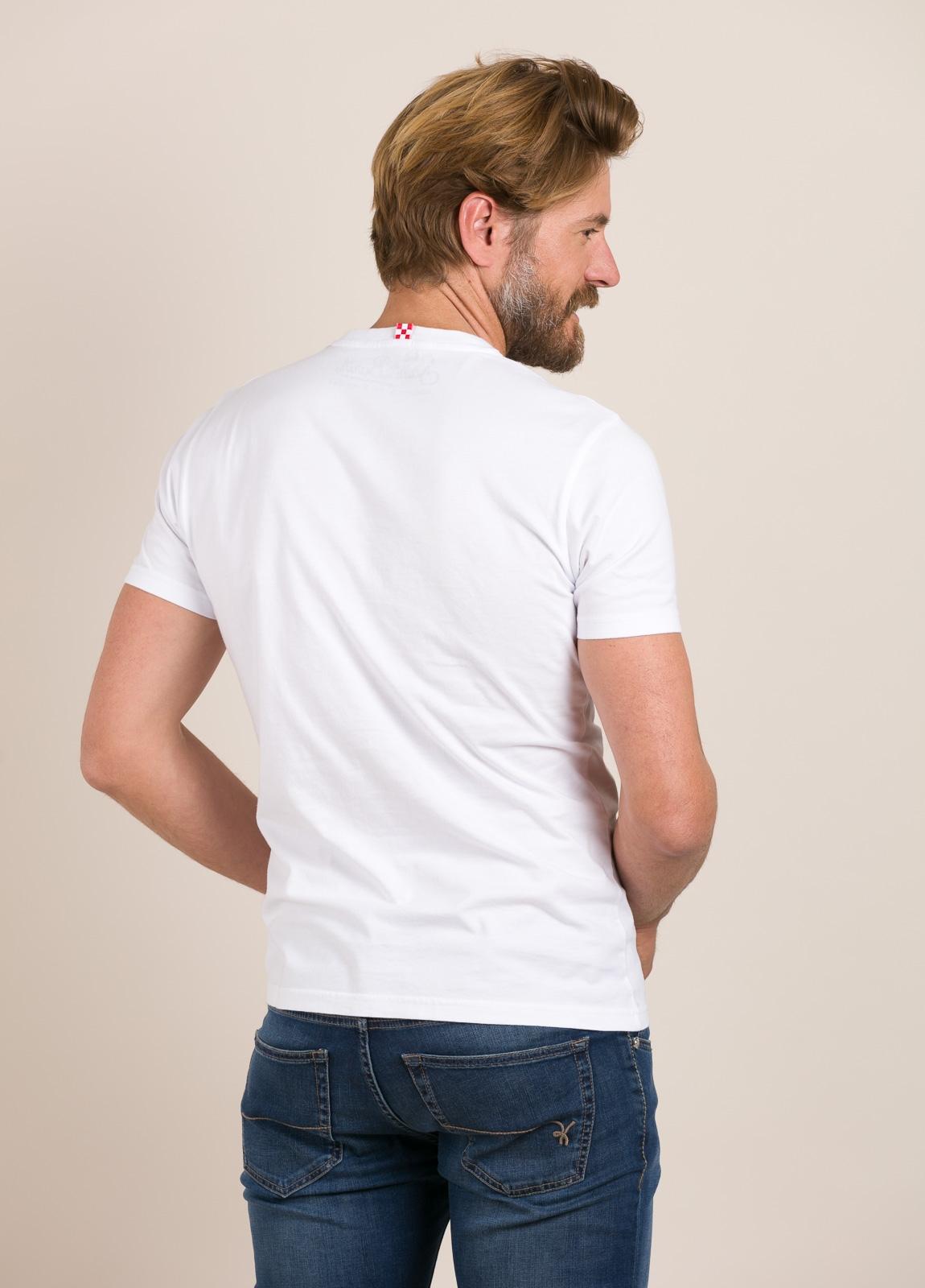 Camiseta MC2 estampado gráfico mono - Ítem1