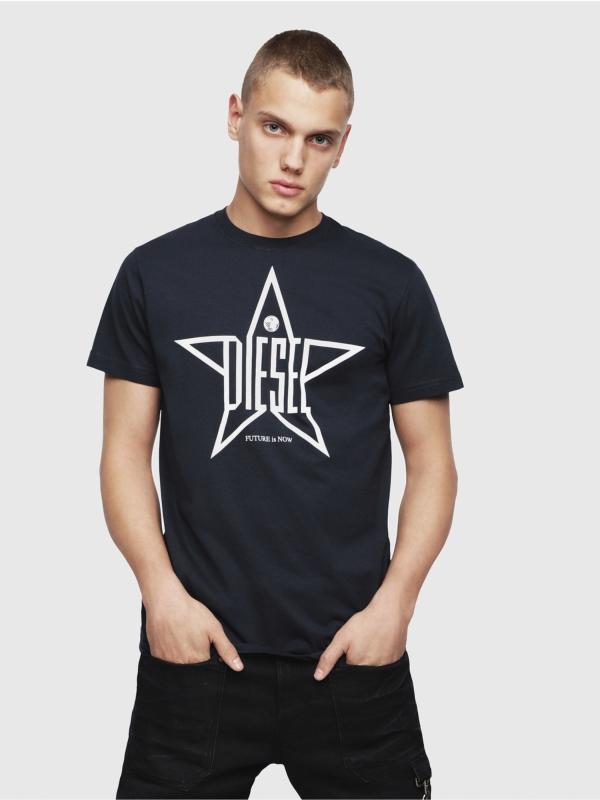 Camiseta DIESEL marino logo