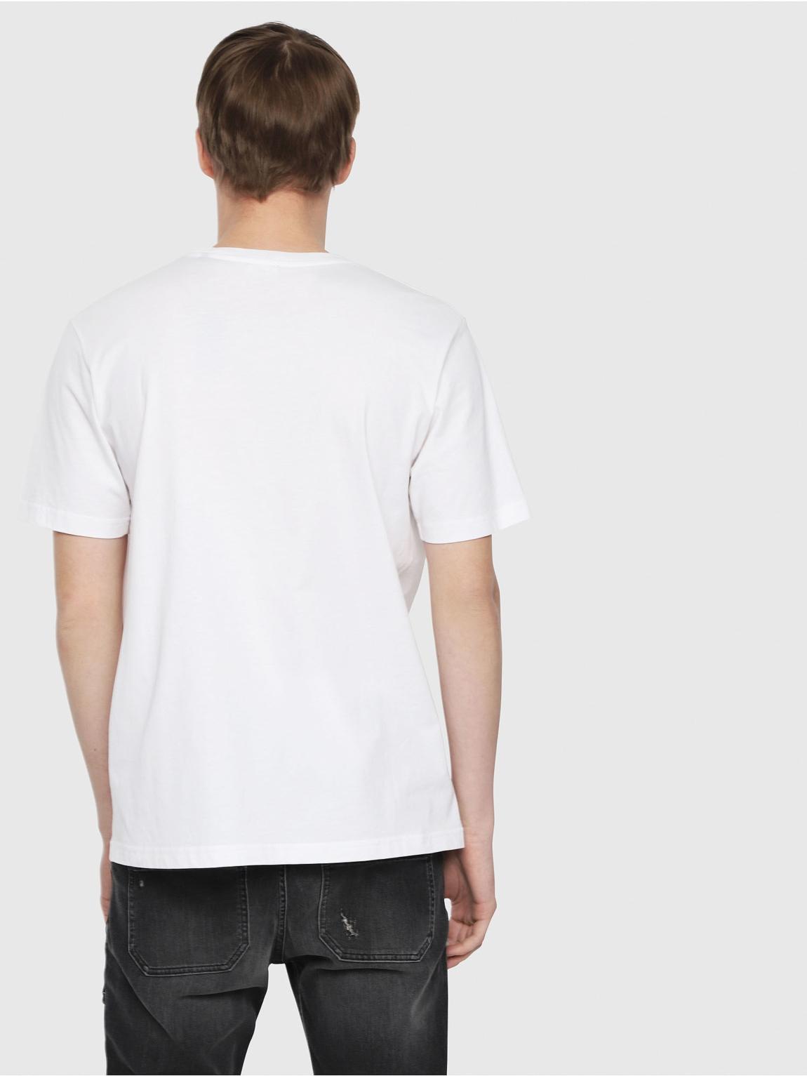 Camiseta DIESEL logo gráfico blanco - Ítem2