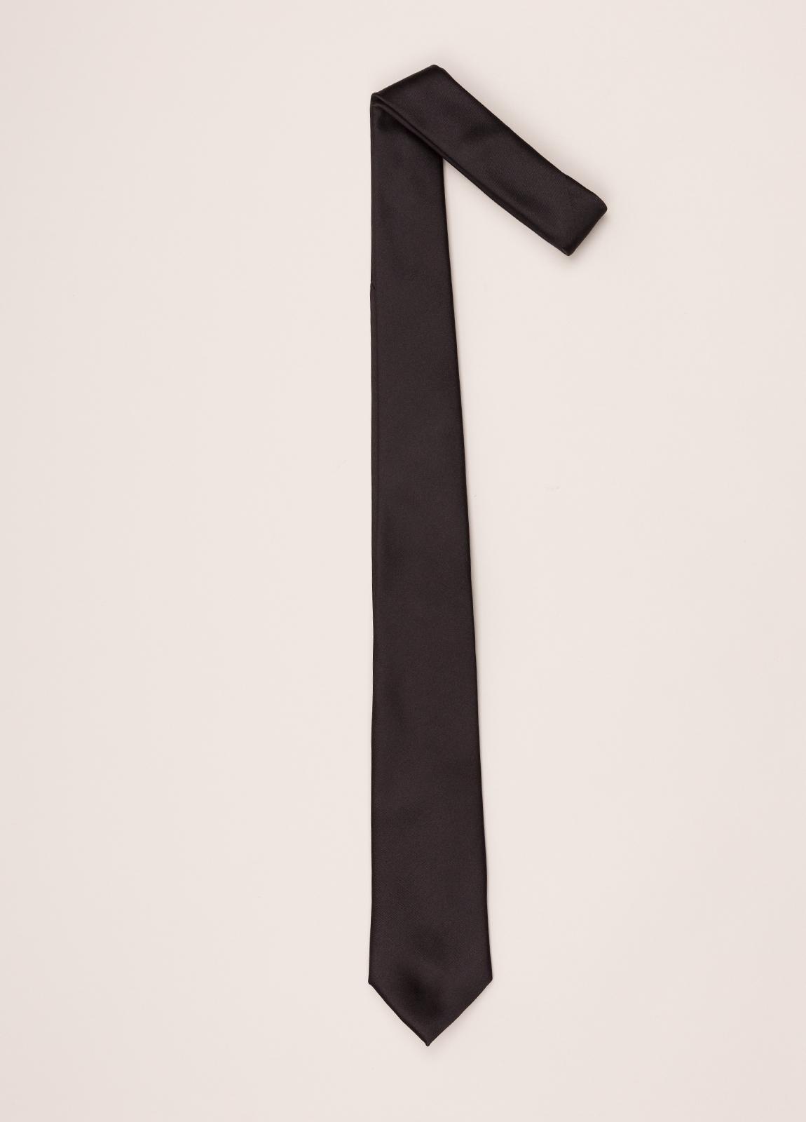 Corbata FUREST COLECCIÓN negro liso - Ítem1