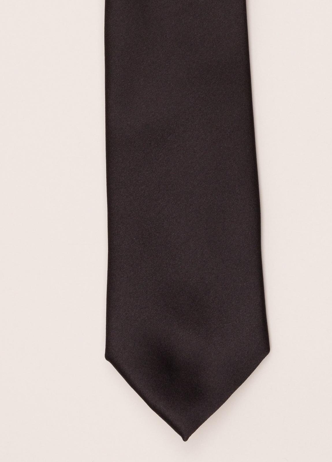 Corbata FUREST COLECCIÓN negro liso