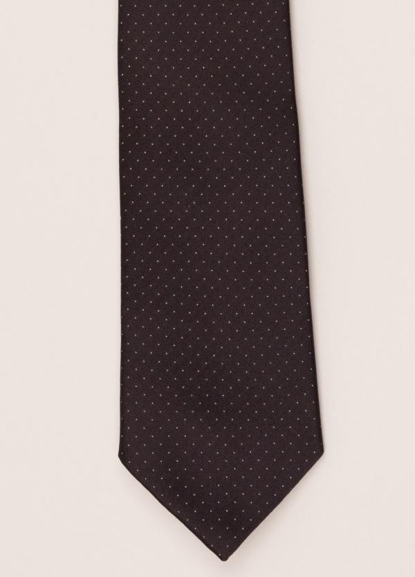 Corbata FUREST COLECCIÓN negro topito