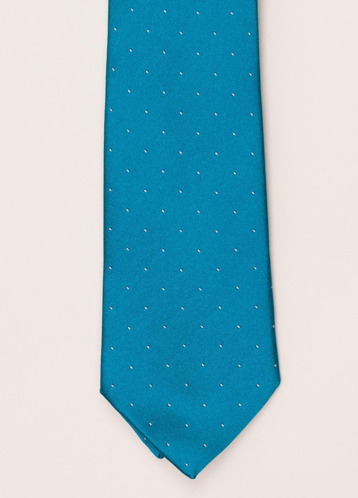Corbata FUREST COLECCIÓN azul turquesa