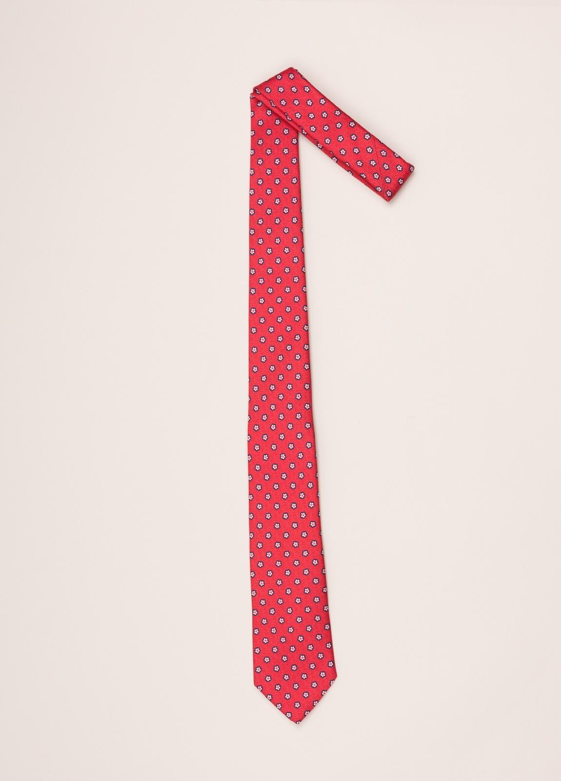 Corbata FUREST COLECCIÓN rojo dibujo - Ítem1