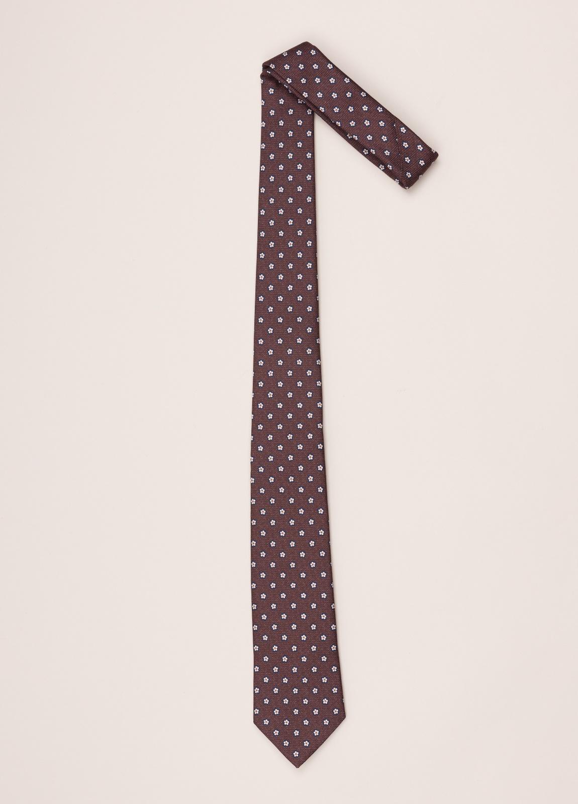 Corbata FUREST COLECCIÓN marrón dibujo - Ítem1