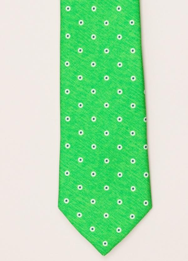 Corbata FUREST COLECCIÓN verde dibujo