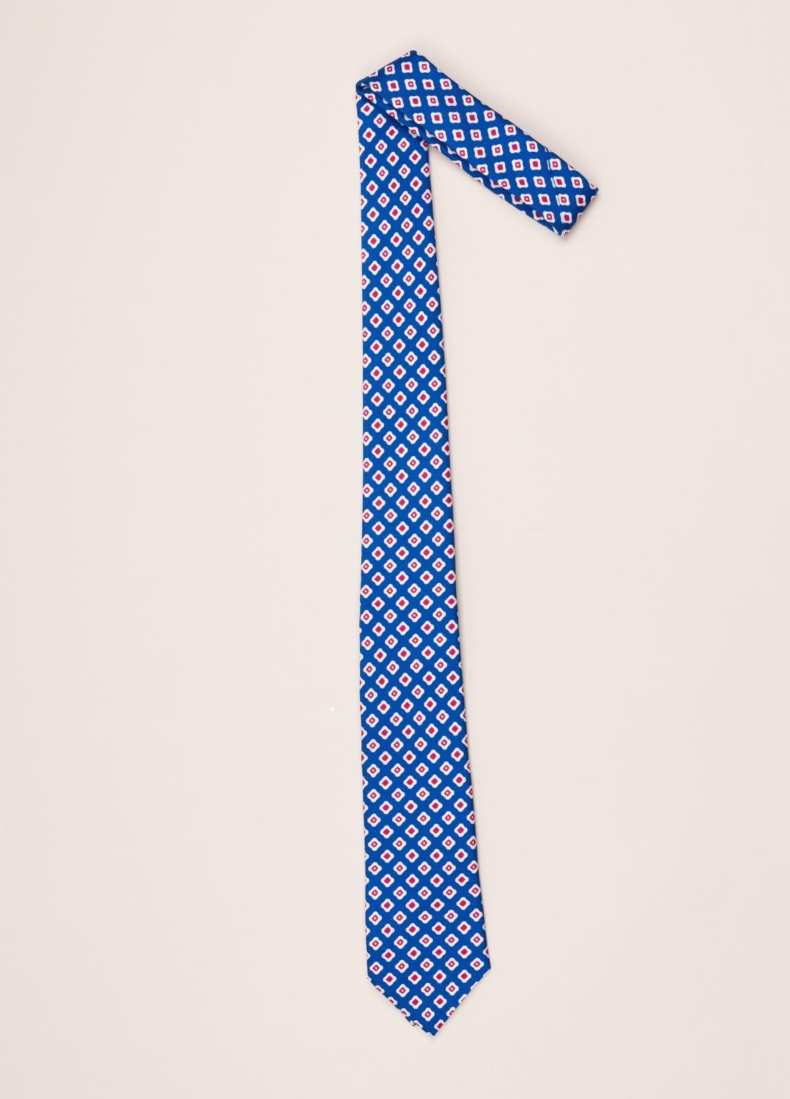 Corbata FUREST COLECCIÓN azul dibujo - Ítem1