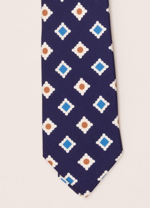 Corbata FUREST COLECCIÓN azul dibujo