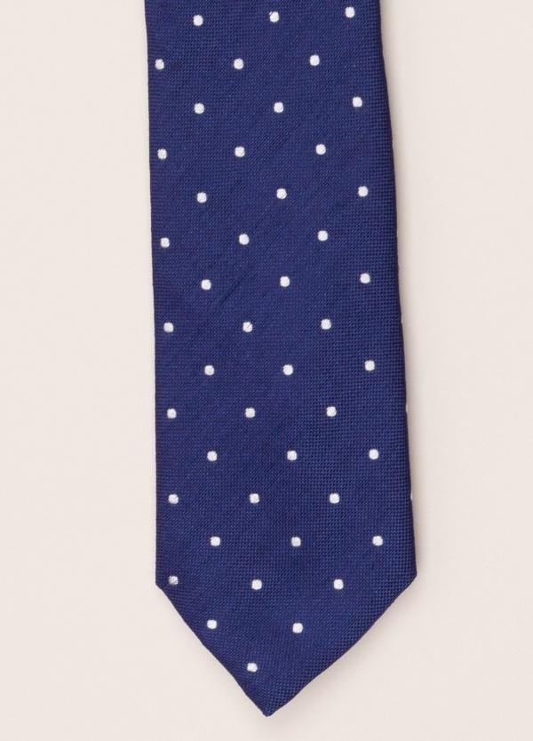 Corbata FUREST COLECCIÓN topo azul