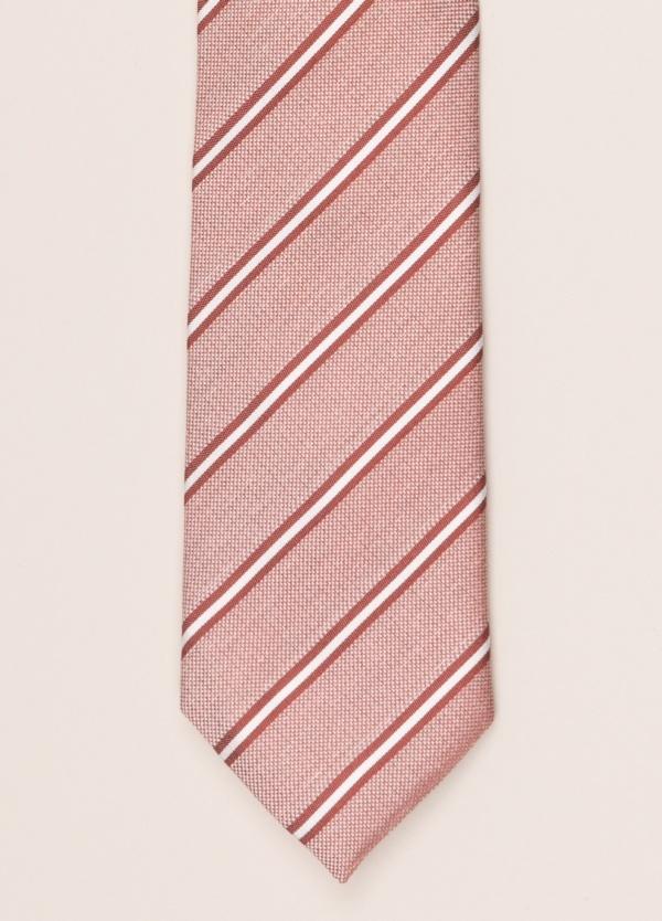 Corbata FUREST COLECCIÓN rayas rosa