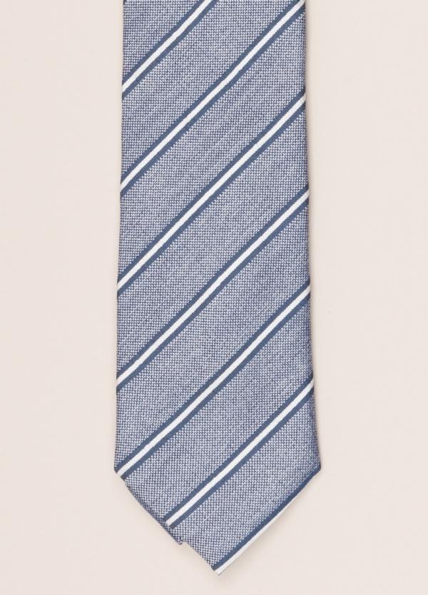 Corbata FUREST COLECCIÓN rayas azul