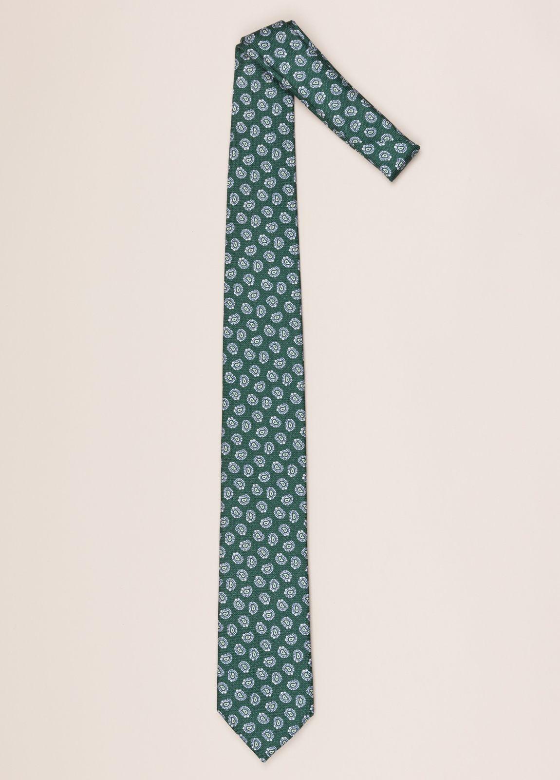 Corbata FUREST COLECCIÓN dibujo verde - Ítem1