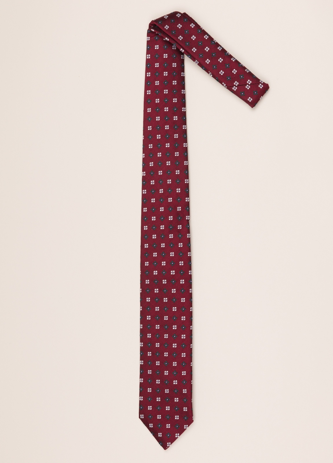 Corbata FUREST COLECCIÓN dibujo rojo - Ítem1