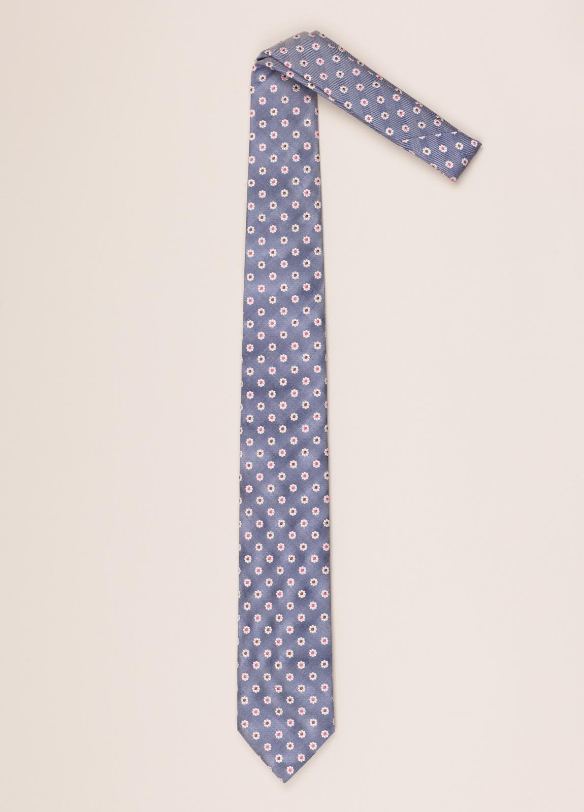 Corbata FUREST COLECCIÓN dibujo azul - Ítem1