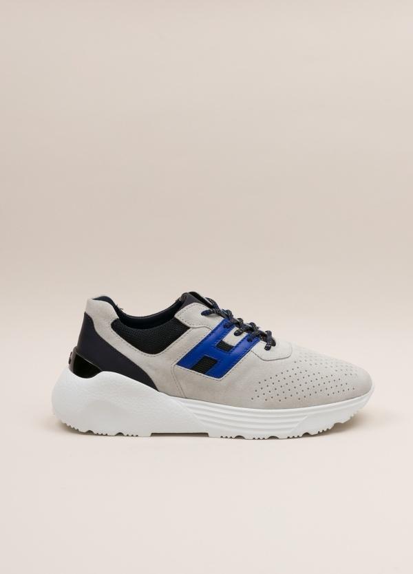 Zapatillas deportivas HOGAN gris y azul