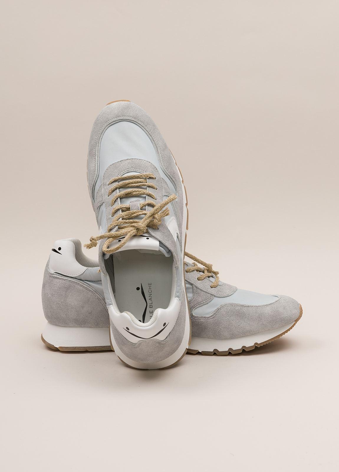 Zapatillas casual VOILE BLANCHE gris claro - Ítem2