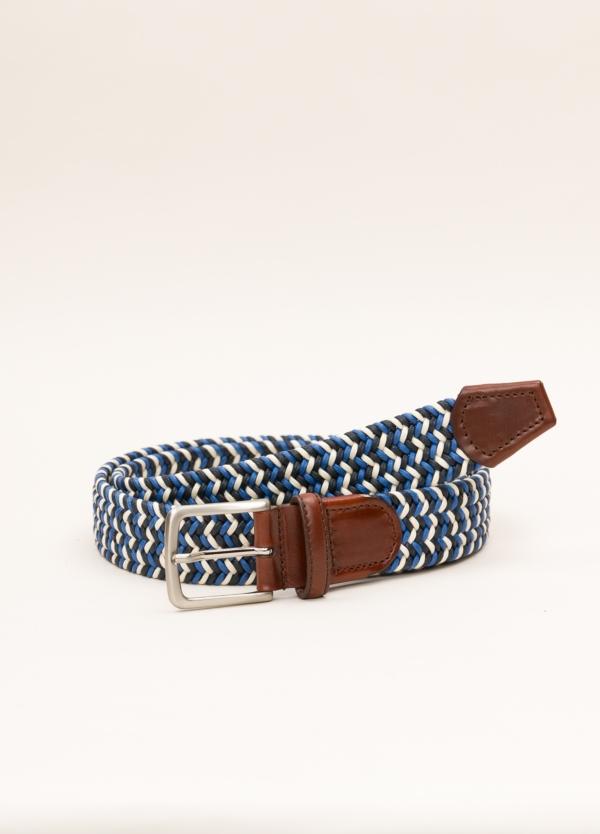 Cinturón Sport FUREST COLECCIÓN trenzado azul