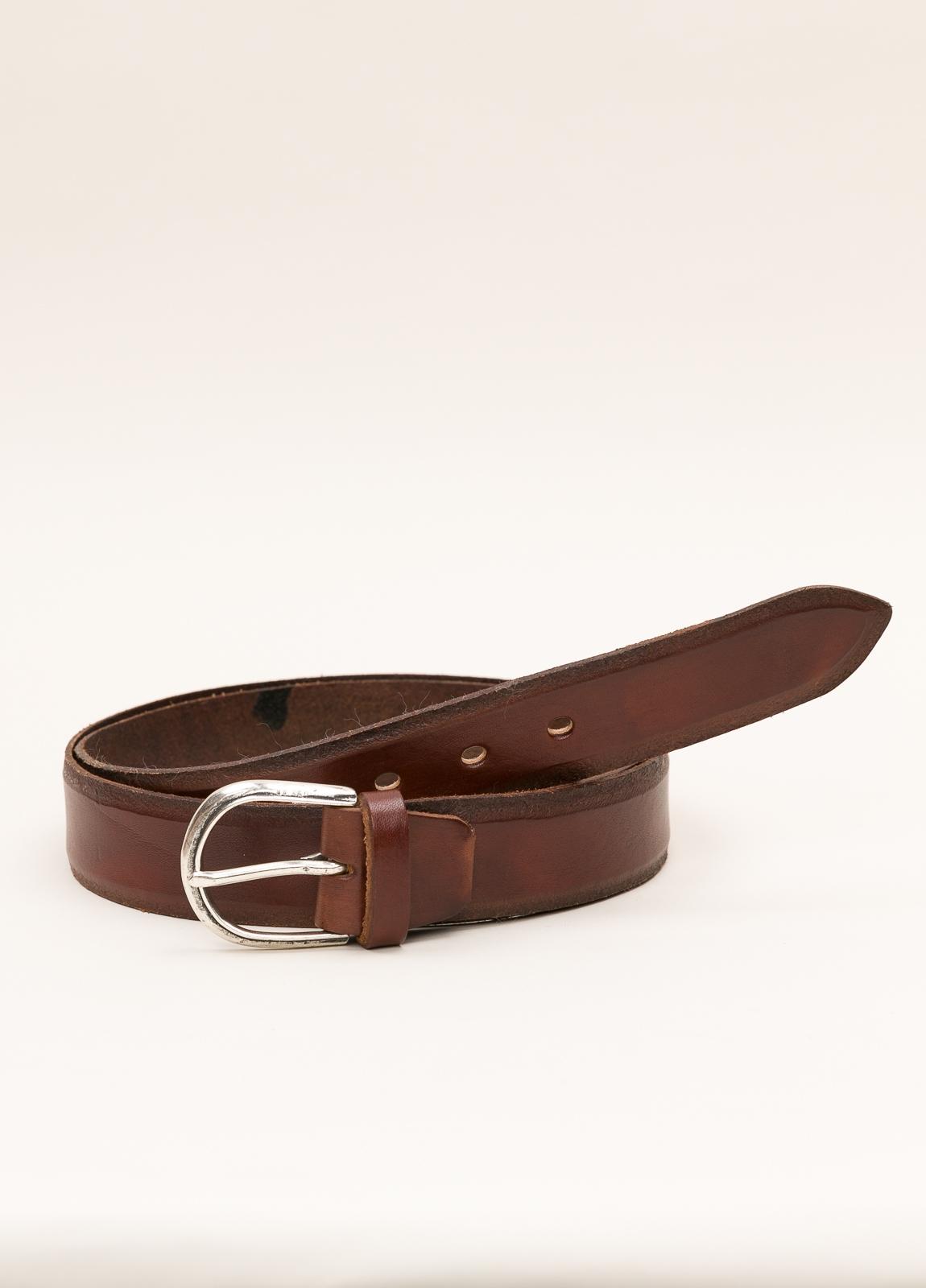 Cinturón sport ITALIAN BELTS liso marrón