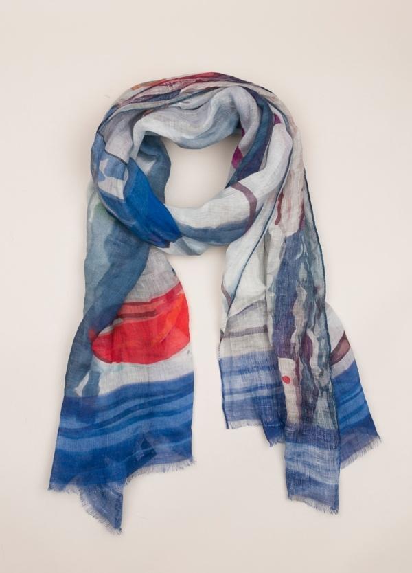 Foulard FUREST COLECCIÓN estampado azul