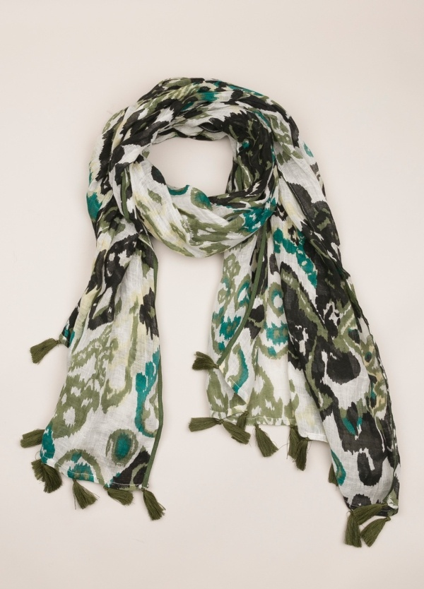 Foulard ALTEA estampado crudo