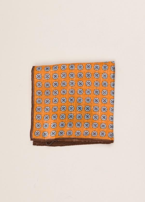 Pañuelo bolsillo ALTEA dibujo naranja