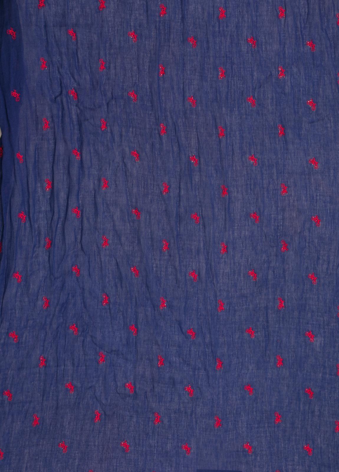 Foulard CAMERUCCI dibujo azulón - Ítem1