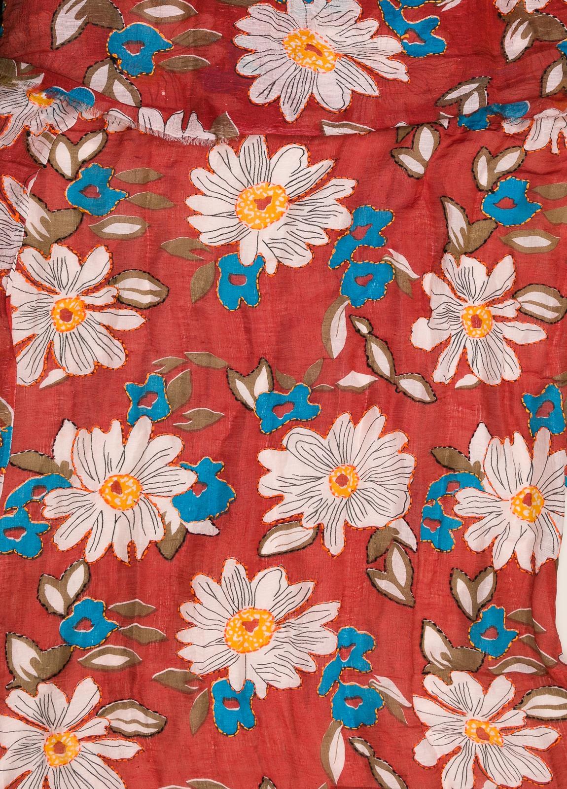 Foulard CAMERUCCI estampado flores - Ítem1