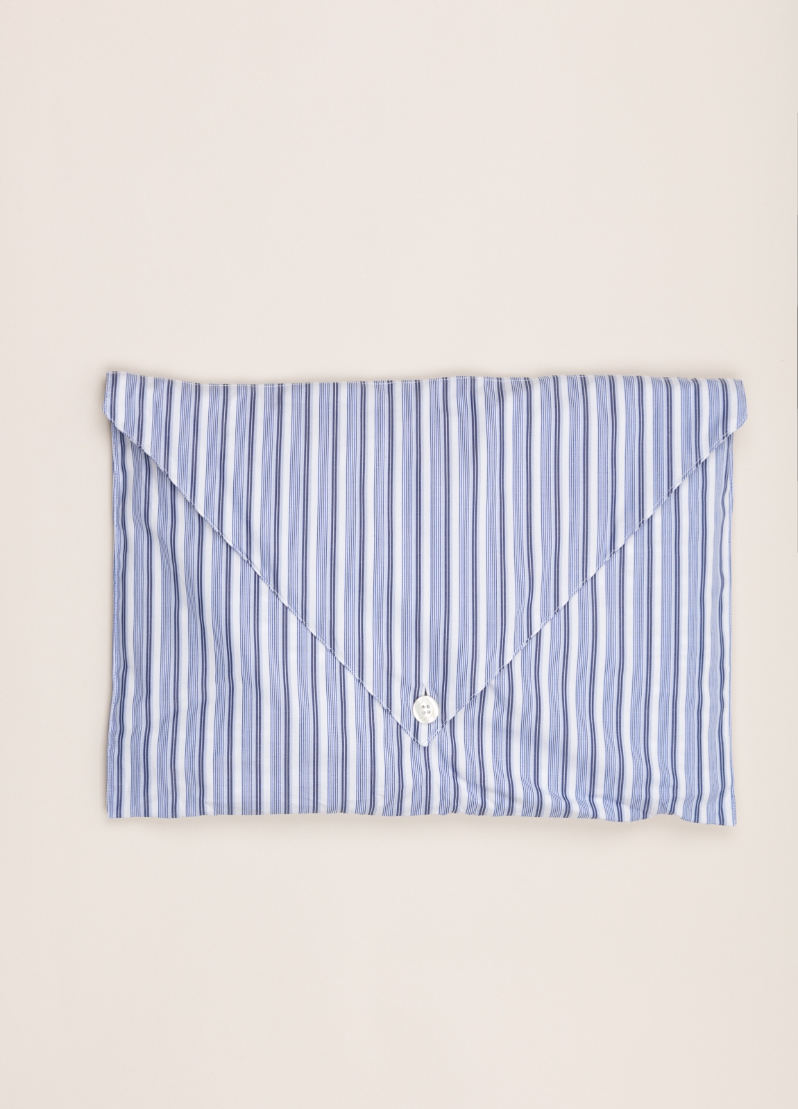 Pijama corto FUREST COLECCIÓN rayas azul - Ítem1