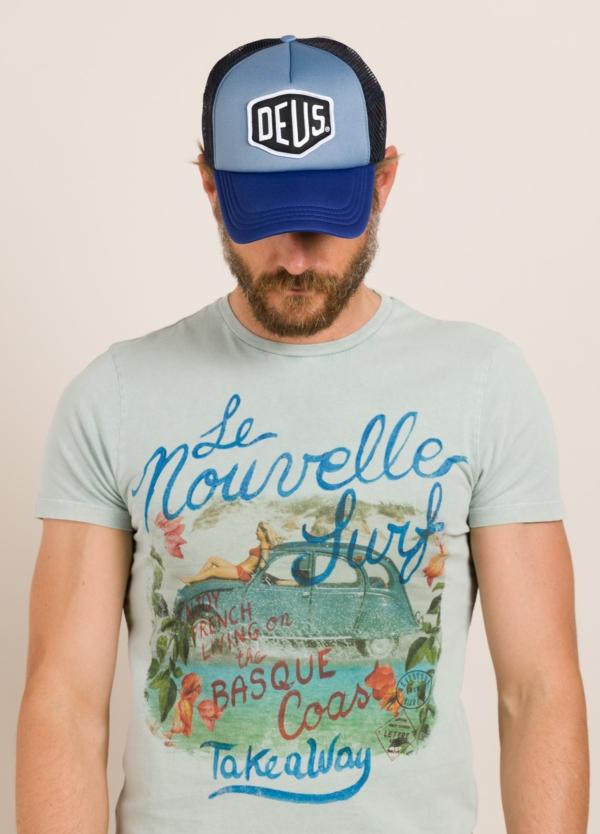Gorra DEUS azul marino